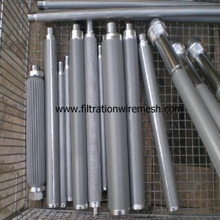 Stainless Steel Sintered Mesh Filter Elements