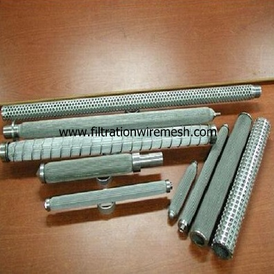Sintered Melt Textile Filter Elements