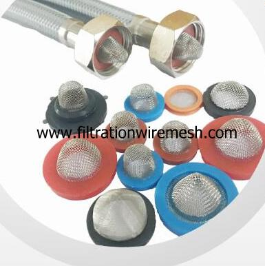 Hose Filter Screen With Rubber Gasket