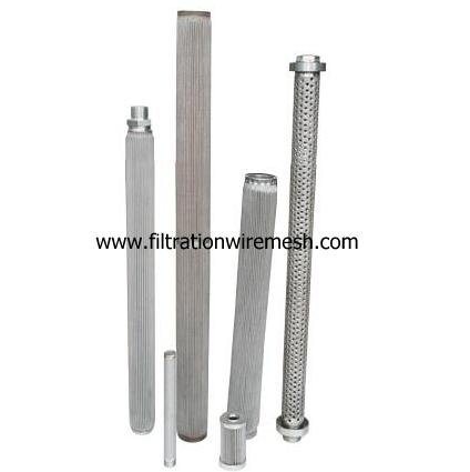 Polymer Pleated Candle Filters