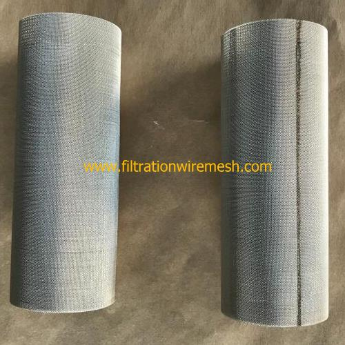 Plastic Film Making Extruder Screen Cylinder Packs