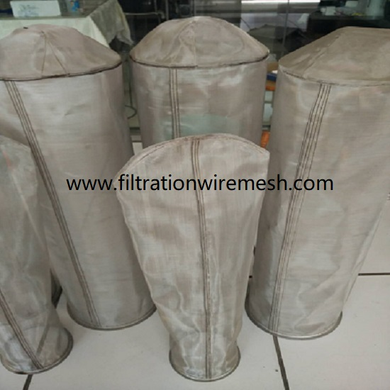 Stainless Steel Wire Mesh Filter Bag