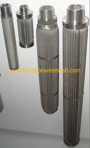 Pleated Filter Cartridge Elements
