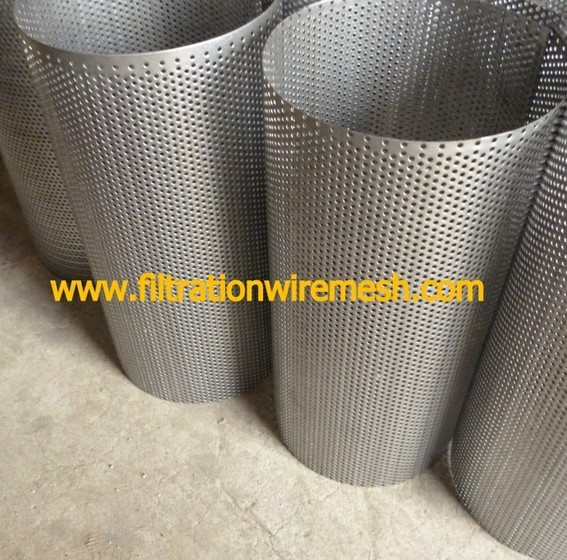Perforated Metal Screen Tube Filter