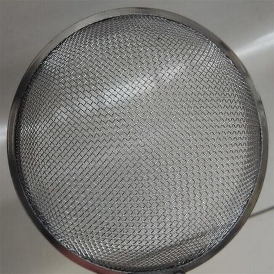 Rimed Wire Mesh Strainer Filter