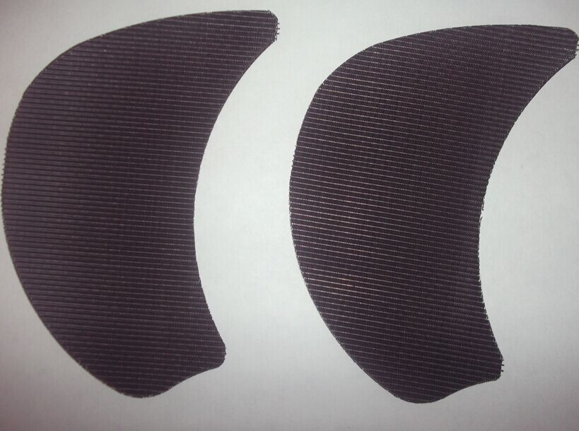 Kidney Shaped Filter Screens