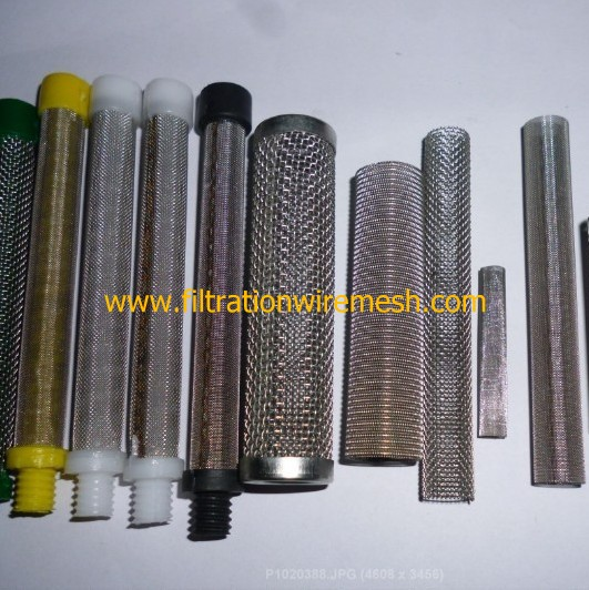 Cylindrical Filter Mesh